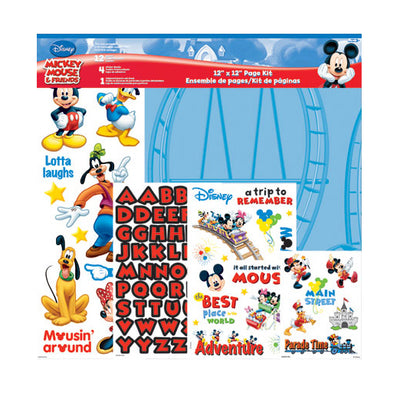 SandyLion Page Kit Disney Mickey 12