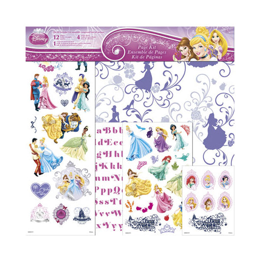 SandyLion Page Kit Disney Princess 12