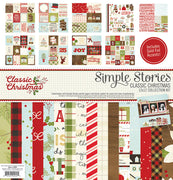 "Classic Christmas Collection Kit 12""x 12"""