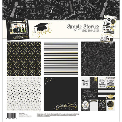 Simple Stories Collection Grad Collection