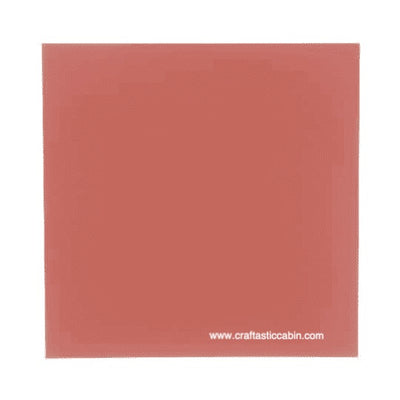 Core'dinations® Foundations Cardstock Sheet - Smooth - Desert Coral - 12 X 12, 25 sheets
