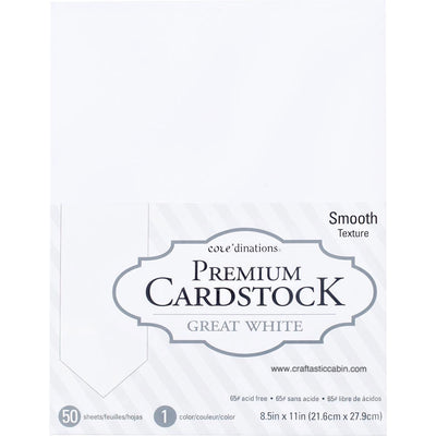 Core'dinations Value Pack Smooth Cardstock 8.5