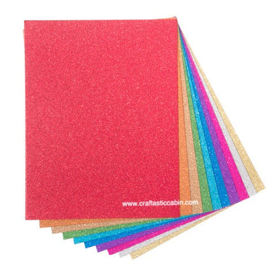 Core'dinations® Glitter Cardstock Value Pack - 8.5 X 11 Inches - 40 Pieces