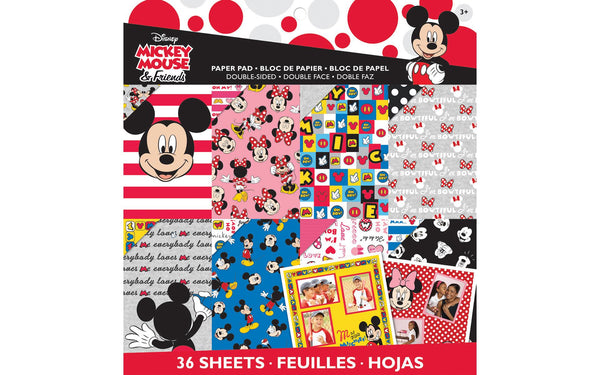 EK Success Paper Pad Disney 12x12