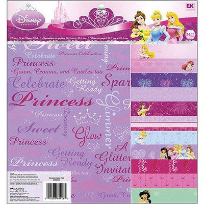 EK Success Paper Pad Disney Princess 12