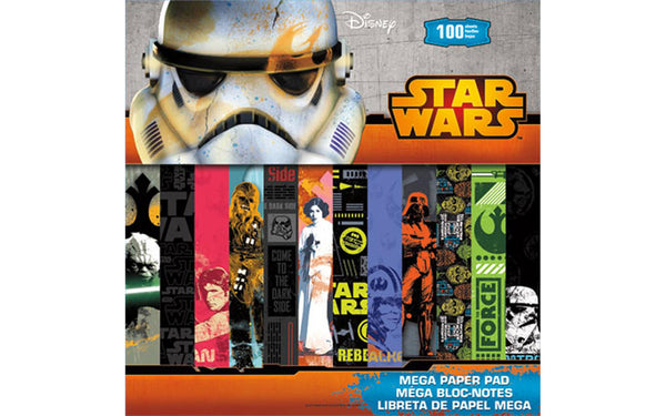 SandyLion Paper Pad Disney Star Wars Mega 12x12