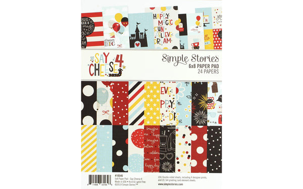 Simple Stories Collection Say Cheese 4 Paper Pad 6x8