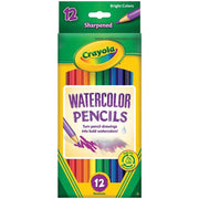 Crayola Watercolor Pencils 12/Pkg Long