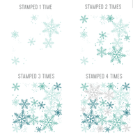 Concord & 9th Clear Stamps - SNOWFLAKES TURNABOUT™ STAMP SET