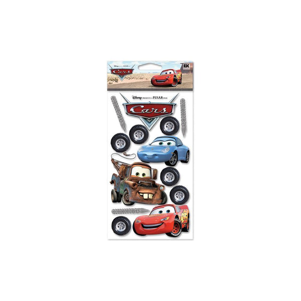 Cars - EK Success Disney Dimensional Stickers | Craftastic Cabin Inc