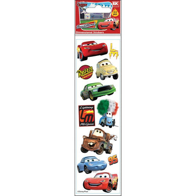 EK Success Sticko Disney Dimensional Stickers - Cars
