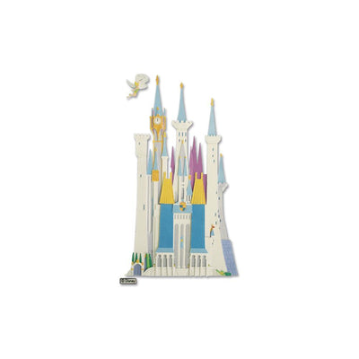 Disney Dimensional Sticker - Disney Castle