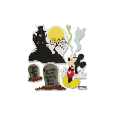 Disney Stickers Haunted House Mickey Mouse