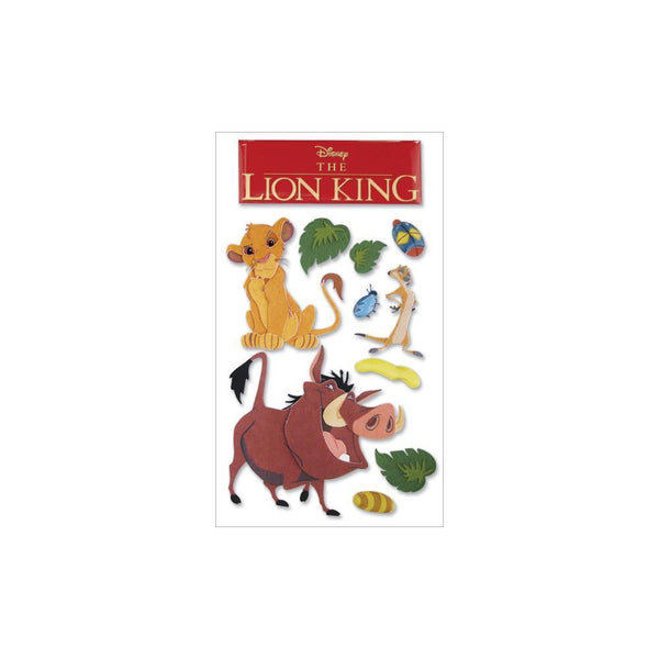 Jolee's EK Success Disney Dimensional Stickers - The Lion King | Craftastic Cabin Inc