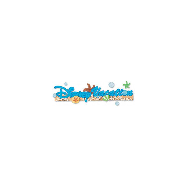 EK Success Jolee's Sticko Disney Dimensional Stickers - Disney Vacation | Craftastic Cabin Inc