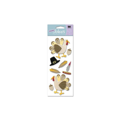 EK Success Touch Of Jolee's Dimensional Stickers - Thanksgiving Turkey