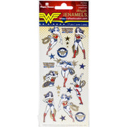 Paper House ENAMEL Stickers Wonder Woman