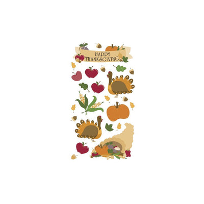 Sticko Classic Stickers - Thanksgiving