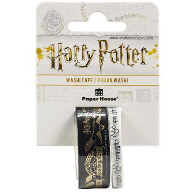 Paper House Washi Tape 2/Pkg Harry Potter Quidditch