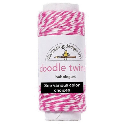 Doodlebug Doodle Twine Spool - Various Colors