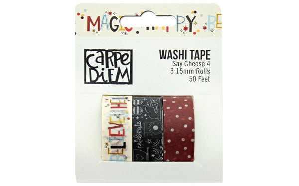 Simple Stories Collection Say Cheese 4 Washi Tape - Craftastic Cabin Inc