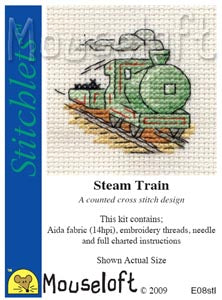 Mouseloft - Stitchlets Collection - Steam Train