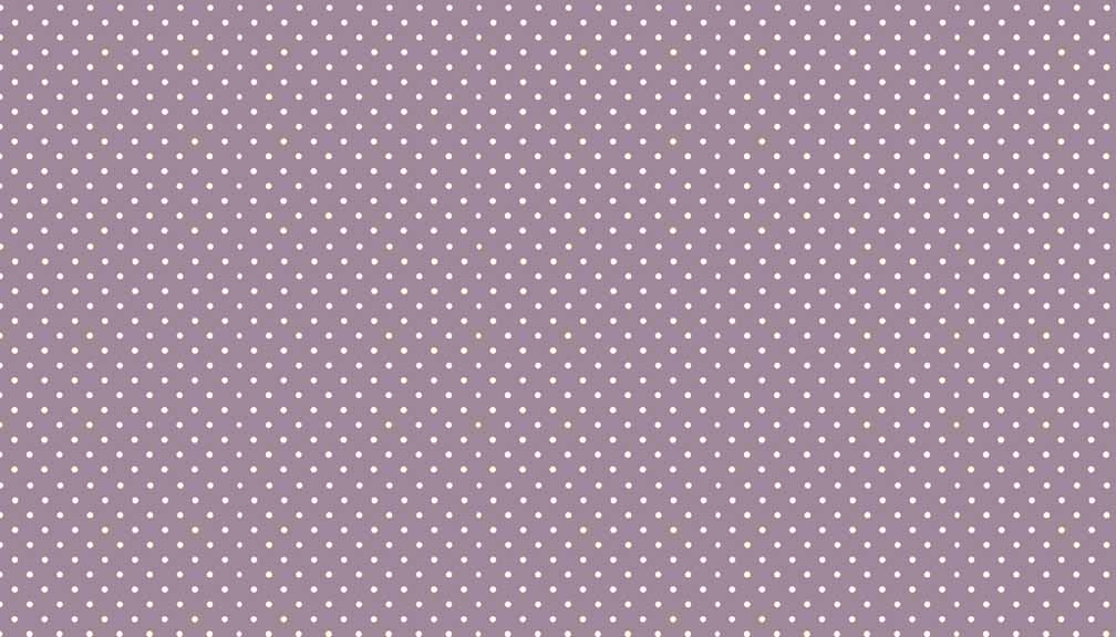 Makower UK Fabrics - 100% Cotton - Basics Collection - Spots and Dots (L66 - New Mauve) - Fat-Quarter