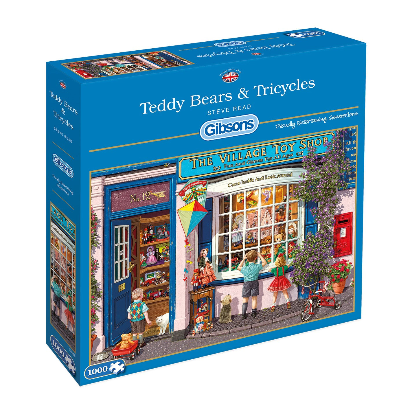 Gibson's Jigsaw - Teddy Bears & Tricycles (1000pc)