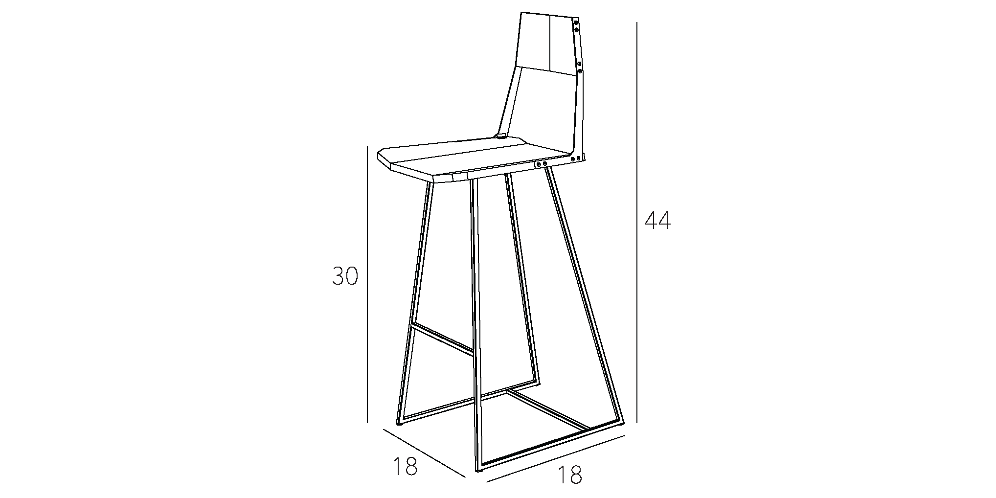 Clarkester Stool Bar