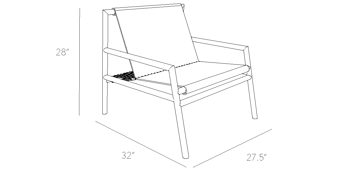 Gallagher Lounge Chair Design