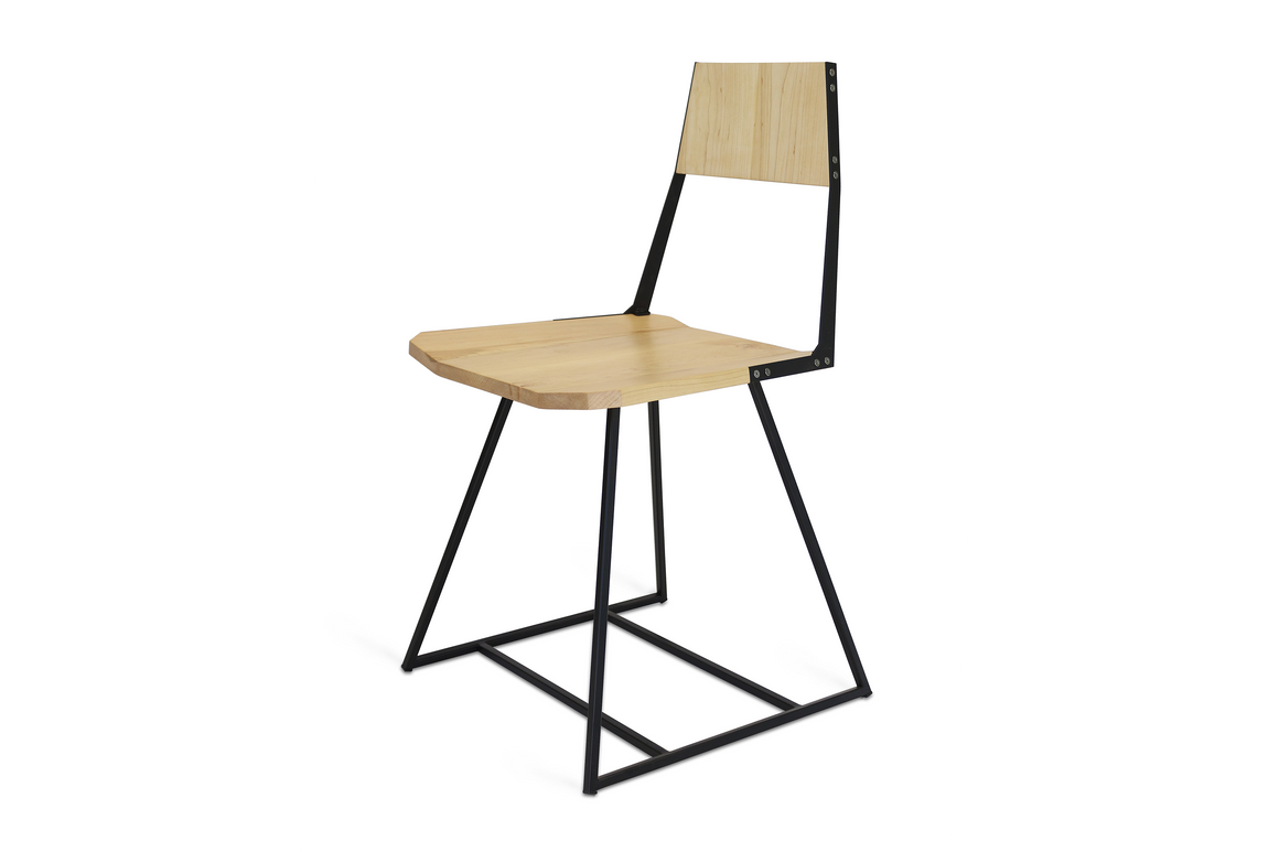 Clarkester Chair Maple Black