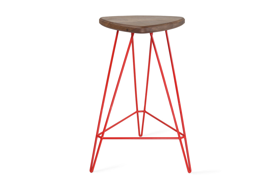 Madison Maple Counter Stool Grey