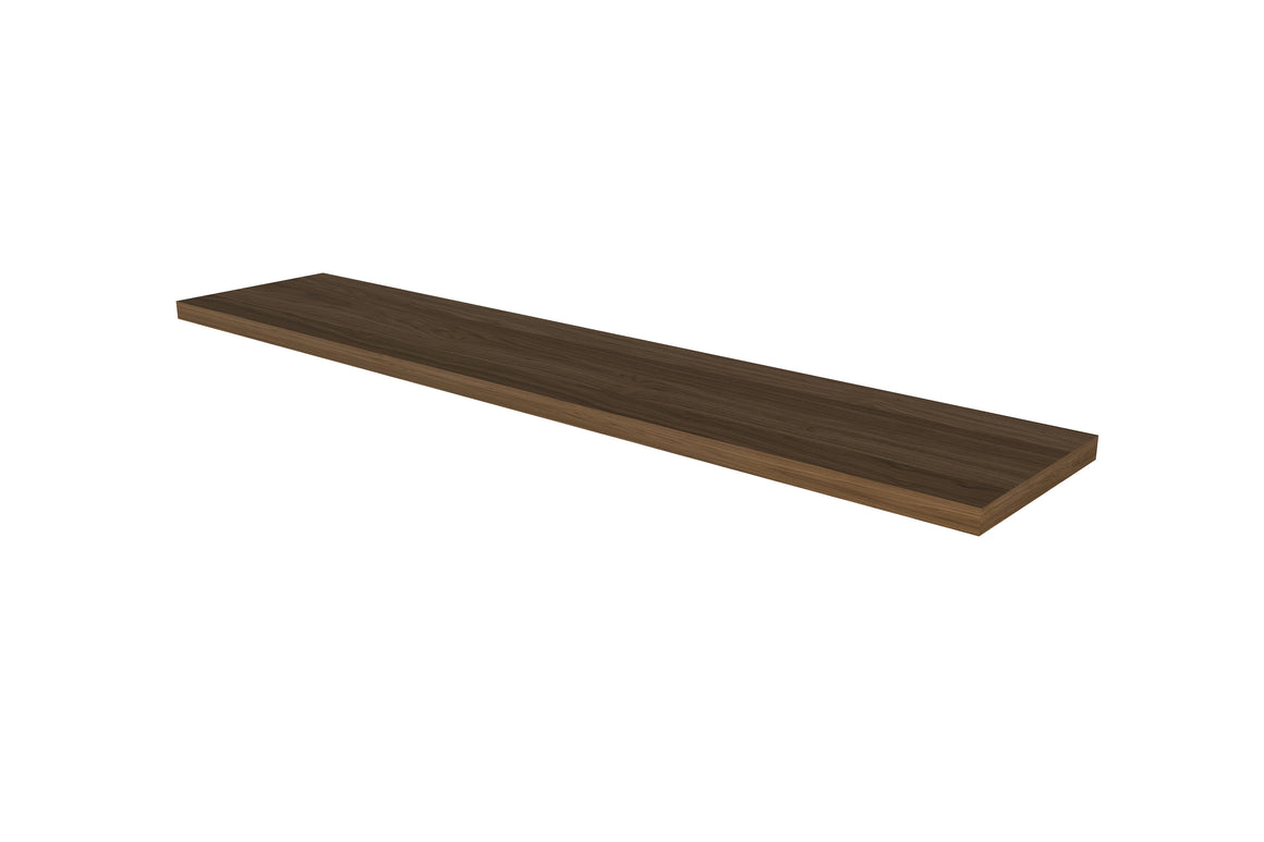"Solid Walnut Wood Shelf Board 48""W"