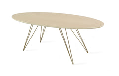 Williams Coffee Table / Maple / Round