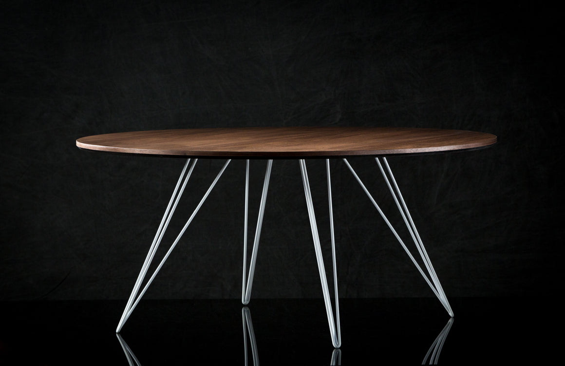 Williams Coffee Table / Walnut / Round