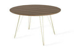 Williams Dining Table / Walnut / Round