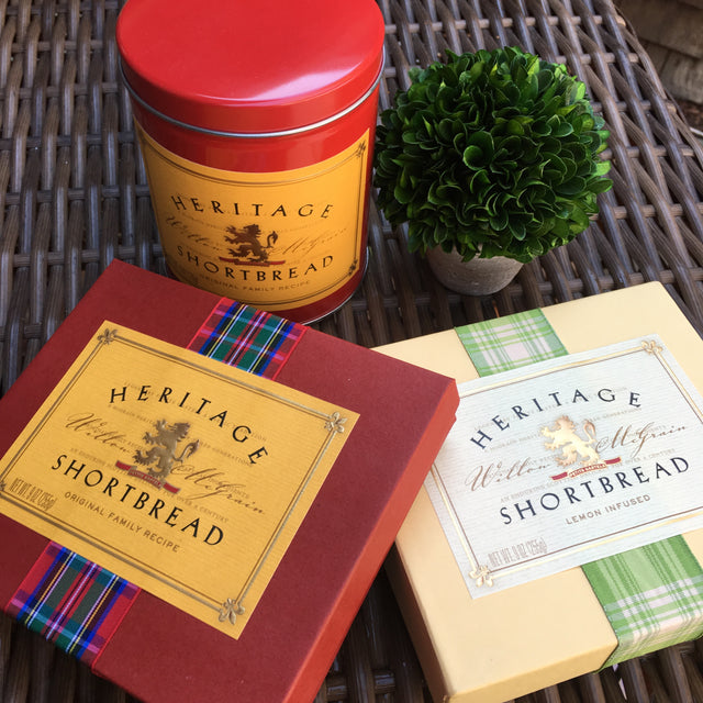 Vendor Spotlight -- Heritage Shortbread
