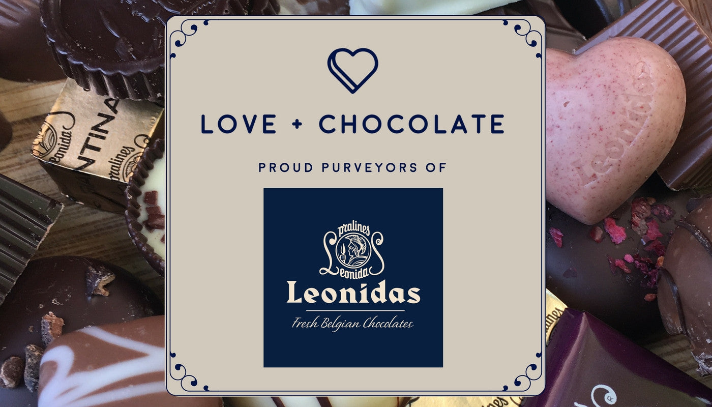 love and chocolate - leonidas chocolate purveyor