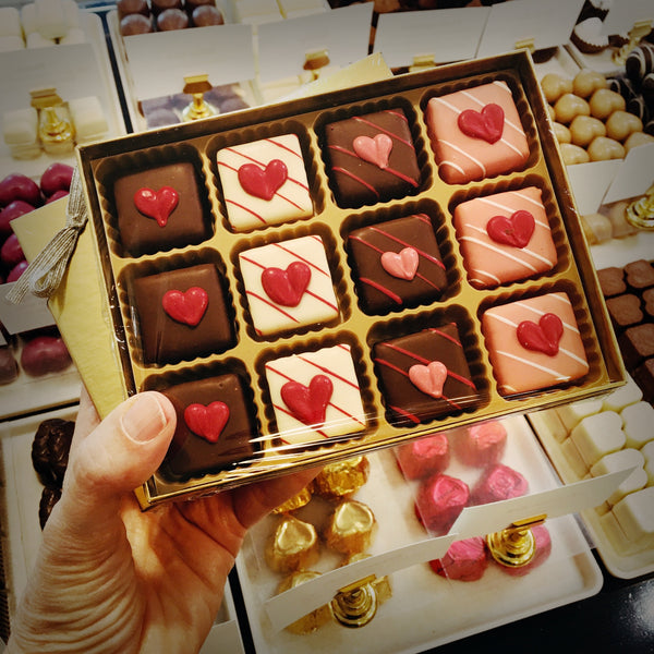 12-pack Valentine's Day Petit Fours