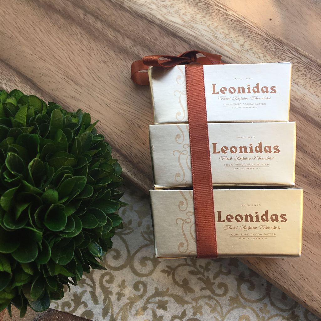 Leonidas Two-Pack Chocolate Stack