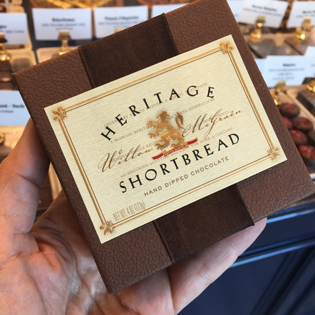 Heritage Shortbread - Chocolate Dipped - Love Chocolate