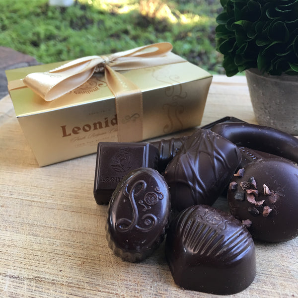 Leonidas Dark Chocolate Assortment - Love Chocolate