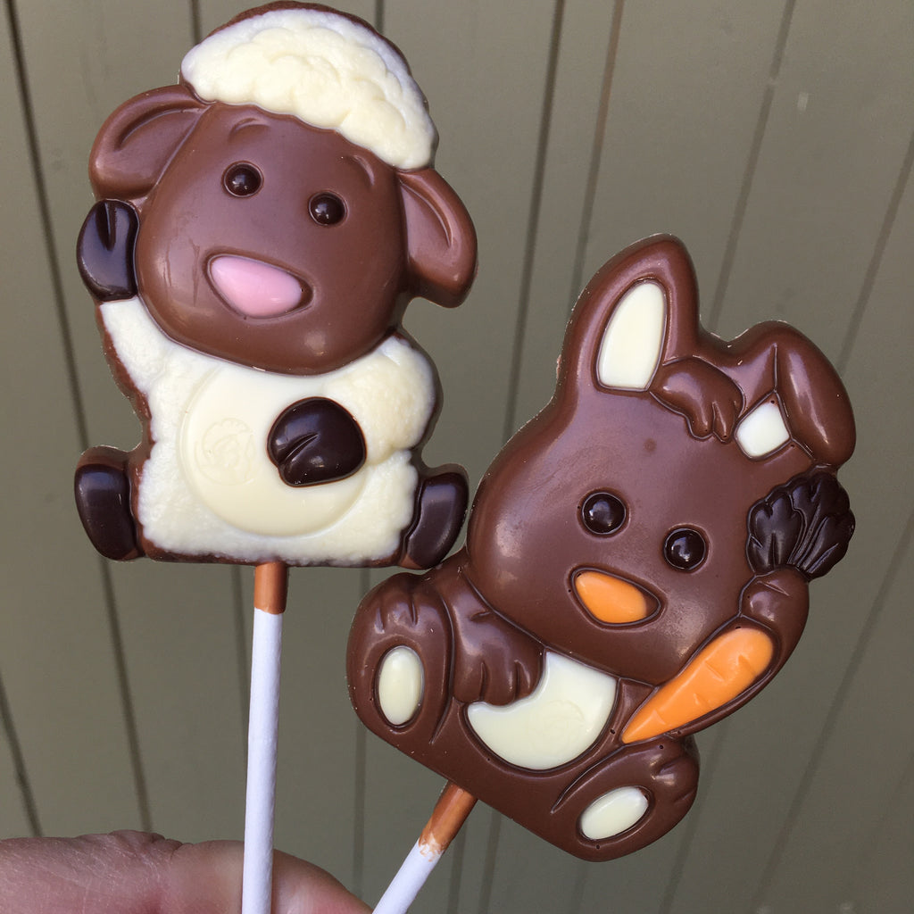 Easter Lollipops! - Love Chocolate