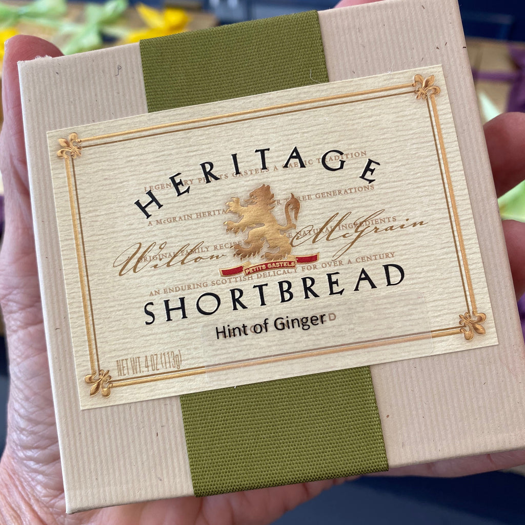 Heritage Shortbread - Ginger - Love Chocolate