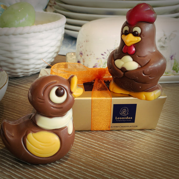 Leonidas Easter Animal Figurines (Mini) - Love Chocolate