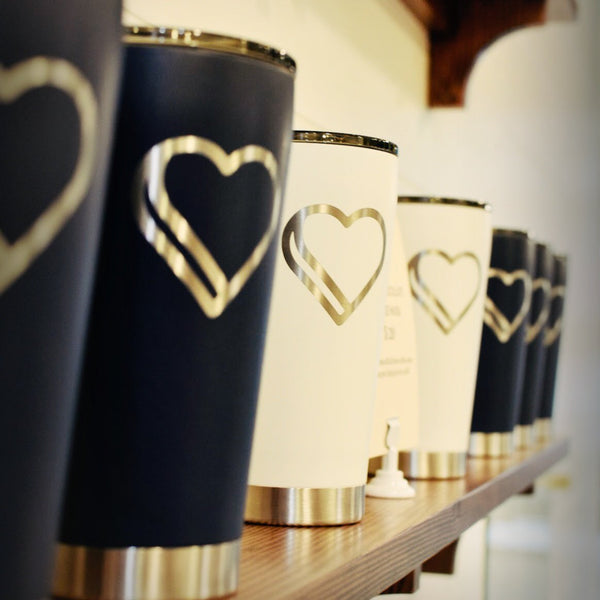 Love + Chocolate Travel Mug - Love Chocolate