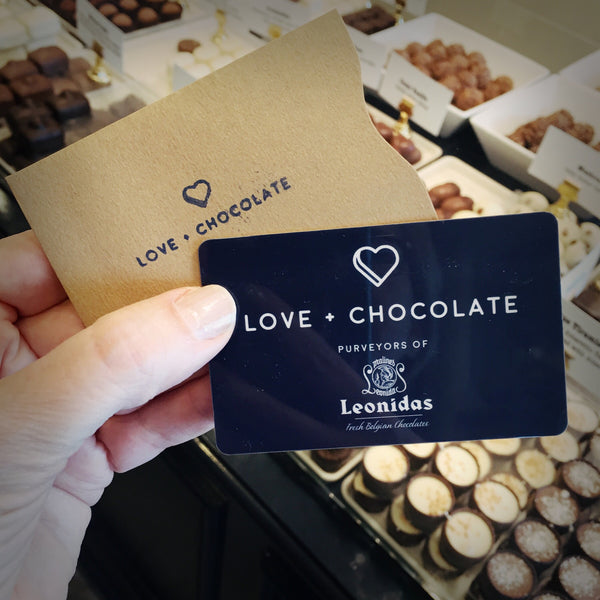 Gift Card - Love Chocolate