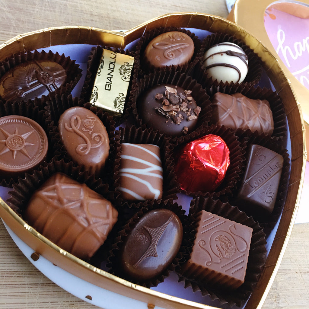 Heart-Shaped Mother's Day Gift Box - Love Chocolate