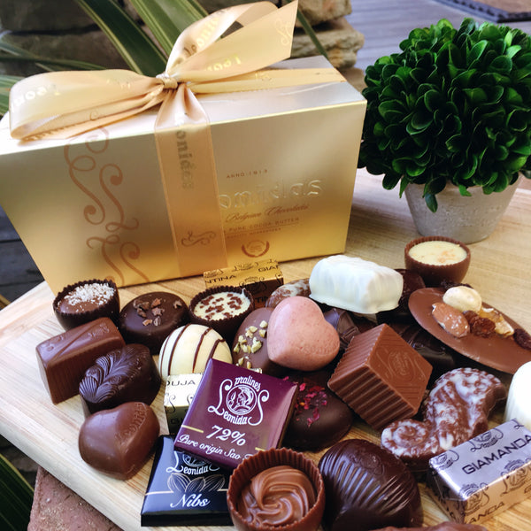 Leonidas 1+ lb box Assorted Chocolates - Love Chocolate