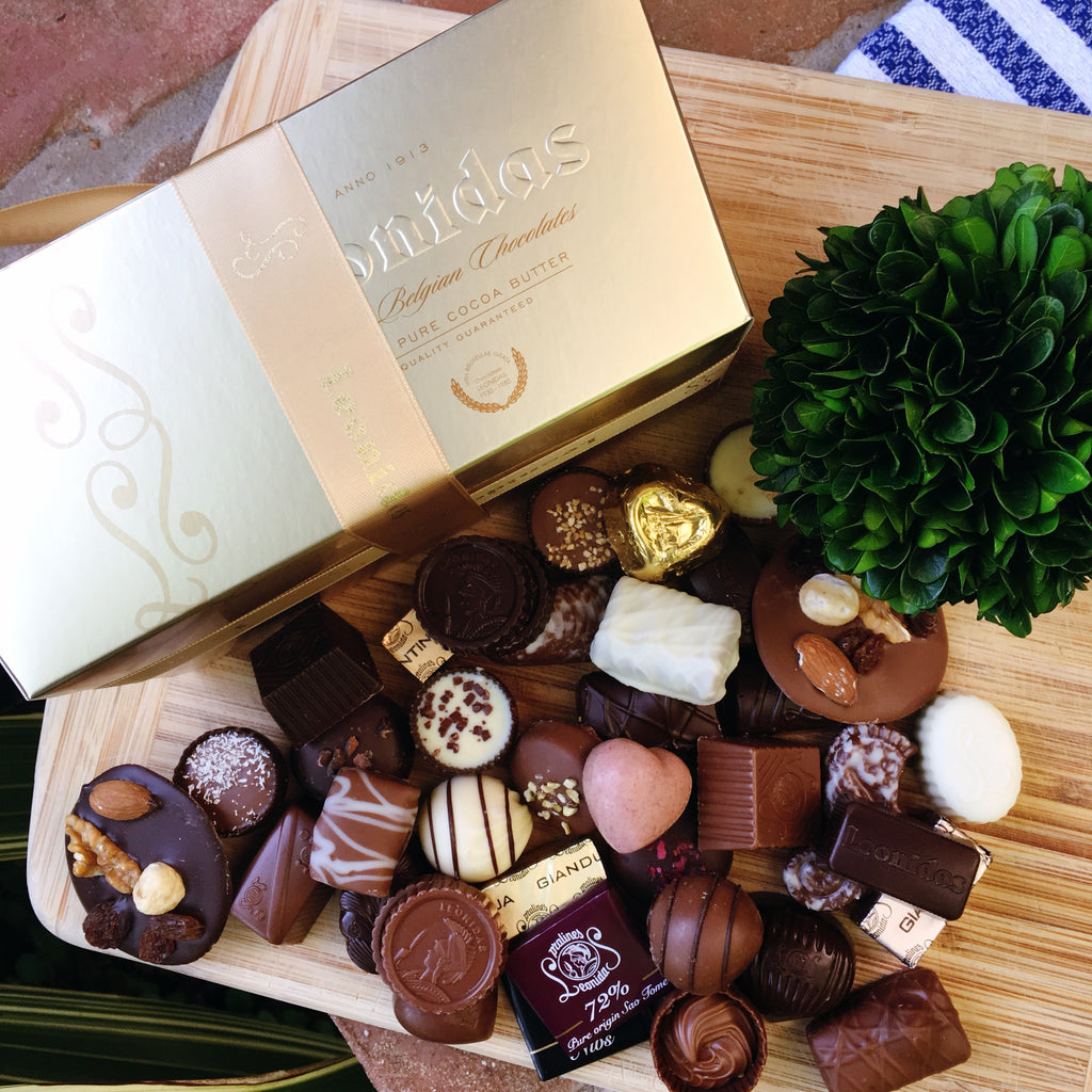 Leonidas 2 lb box Assorted Chocolates - Love Chocolate